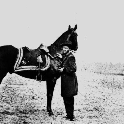 Which President Got a Speeding Ticket on a Horse?
