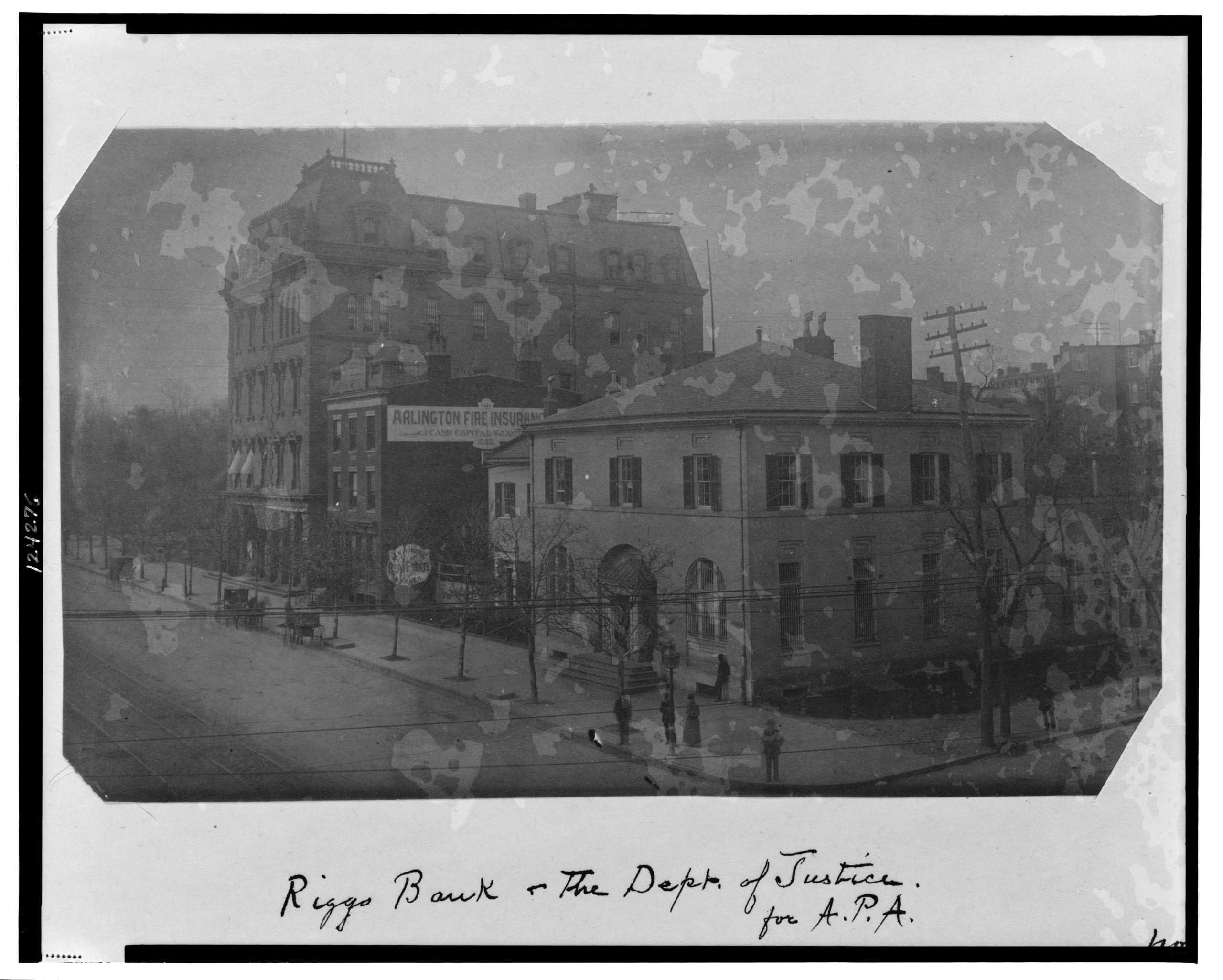 Riggs Bank & The Dept. of Justice