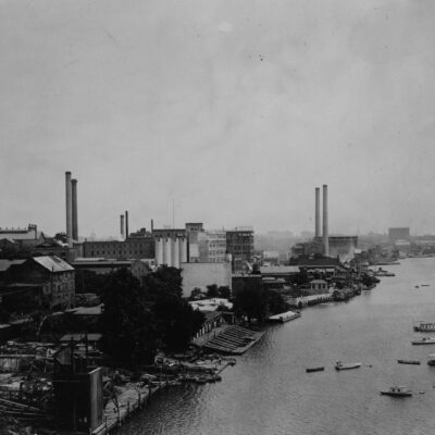 Very Different Georgetown Waterfront in 1920s