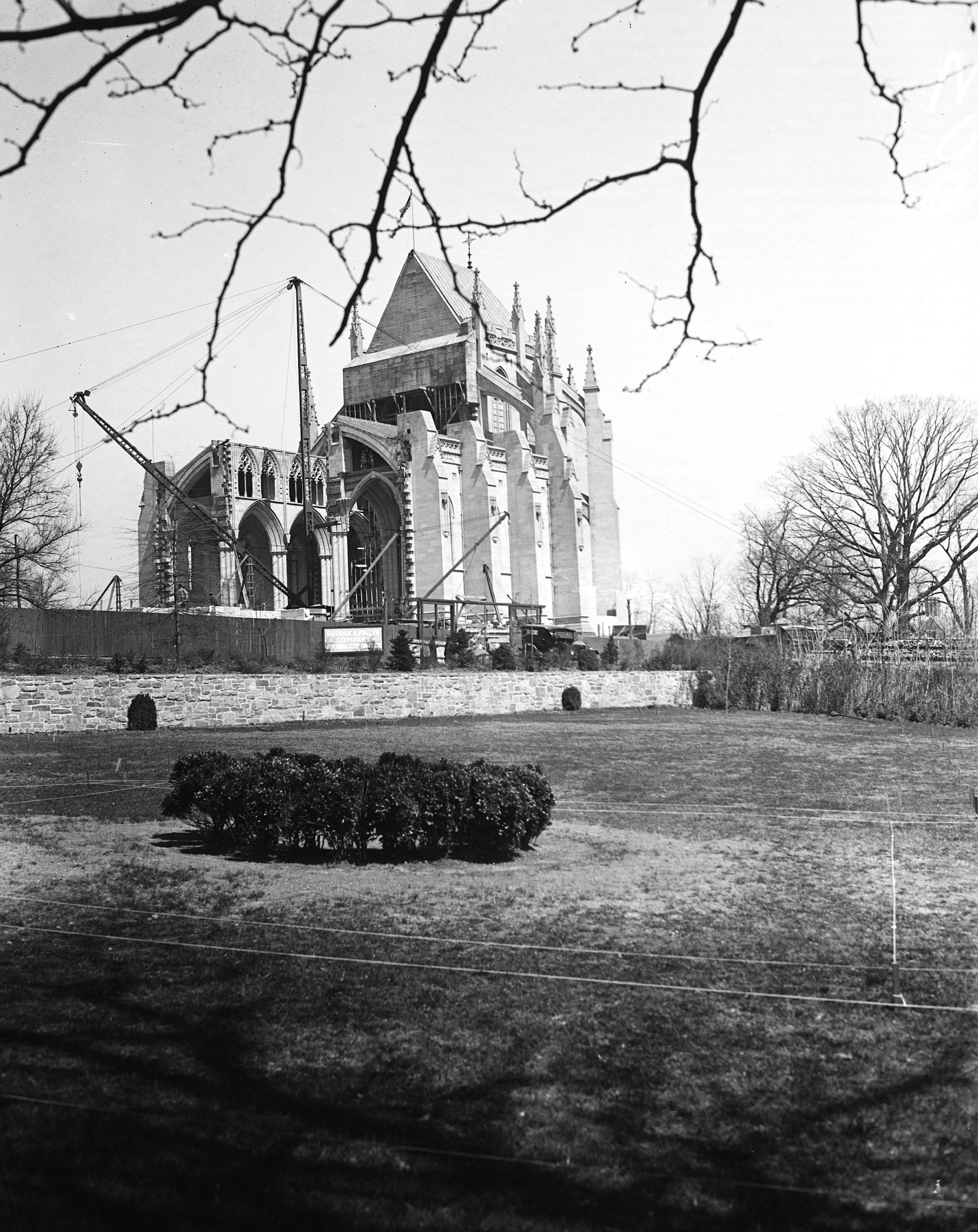 National Cathedral under construction (1925)