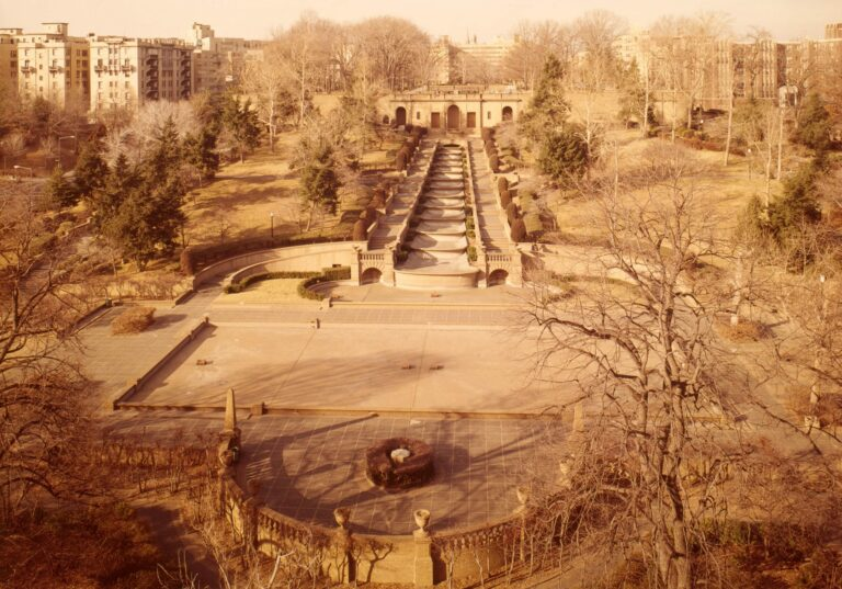Meridian Hill Park in 1976