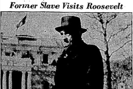 Ex-Slave Visits With FDR at White House