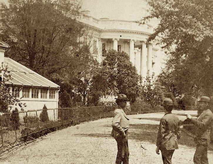 Amazing 19th Century Photo of the White House