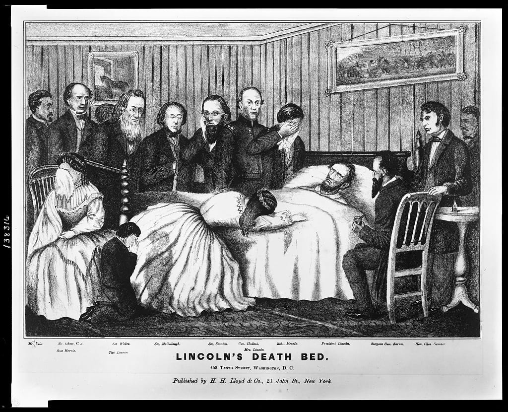 Lincoln's death bed : 453 Tenth Street, Washington, D.C