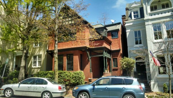 View of 1523 31st St. NW