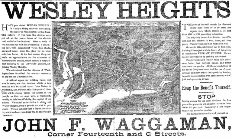 Wesley Heights -1891