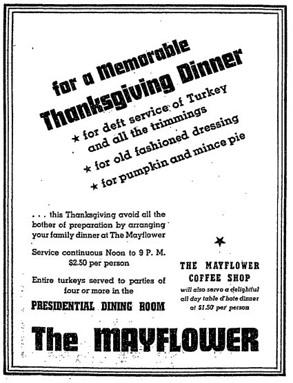 1939 Mayflower advertisement