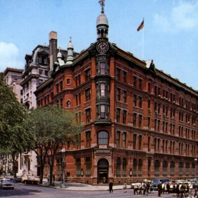National Savings and Trust Building in 1960