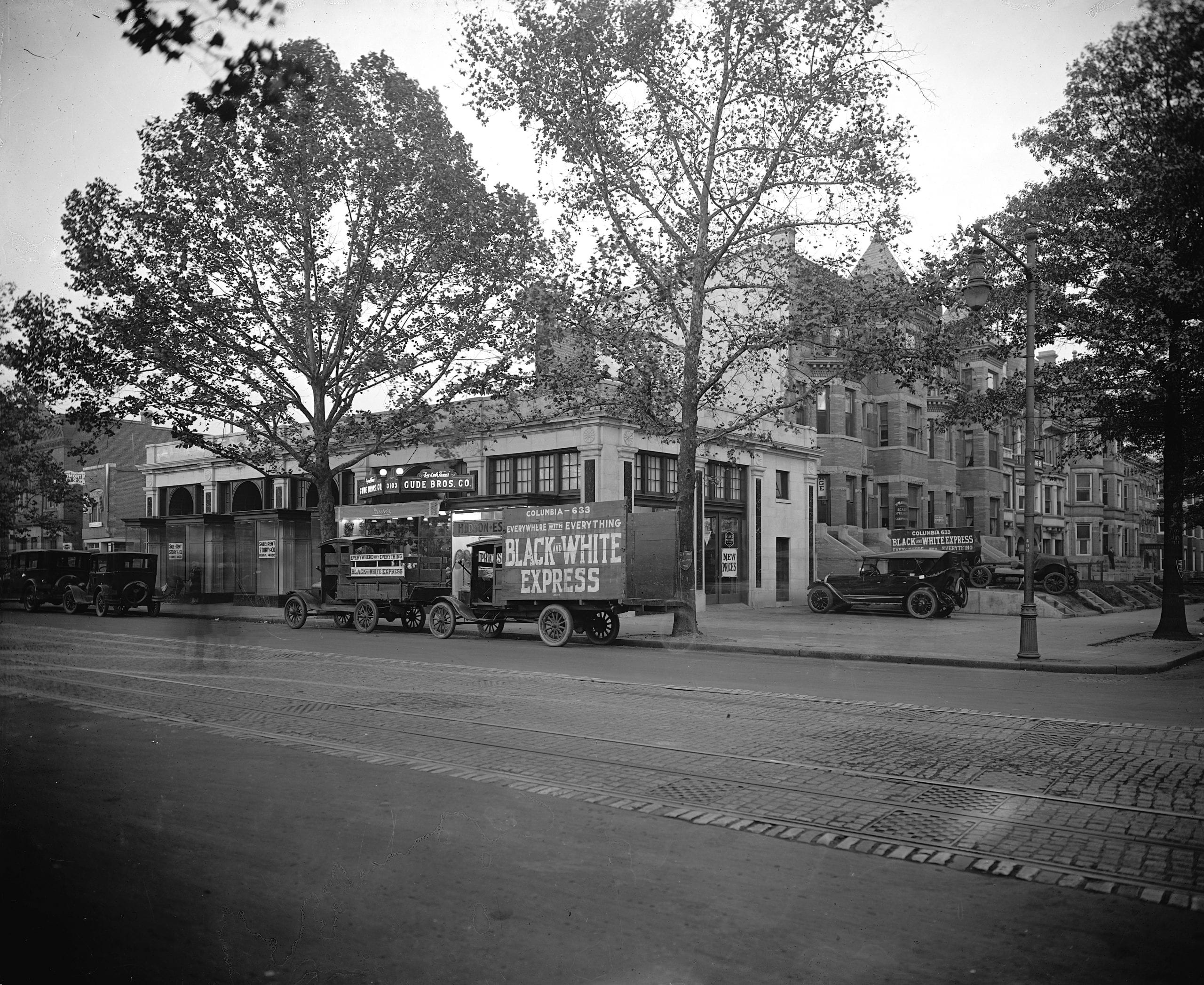 Do you recognize the northeast corner of 14th and Irving St. NW in Columbia Heights from the 1920s?