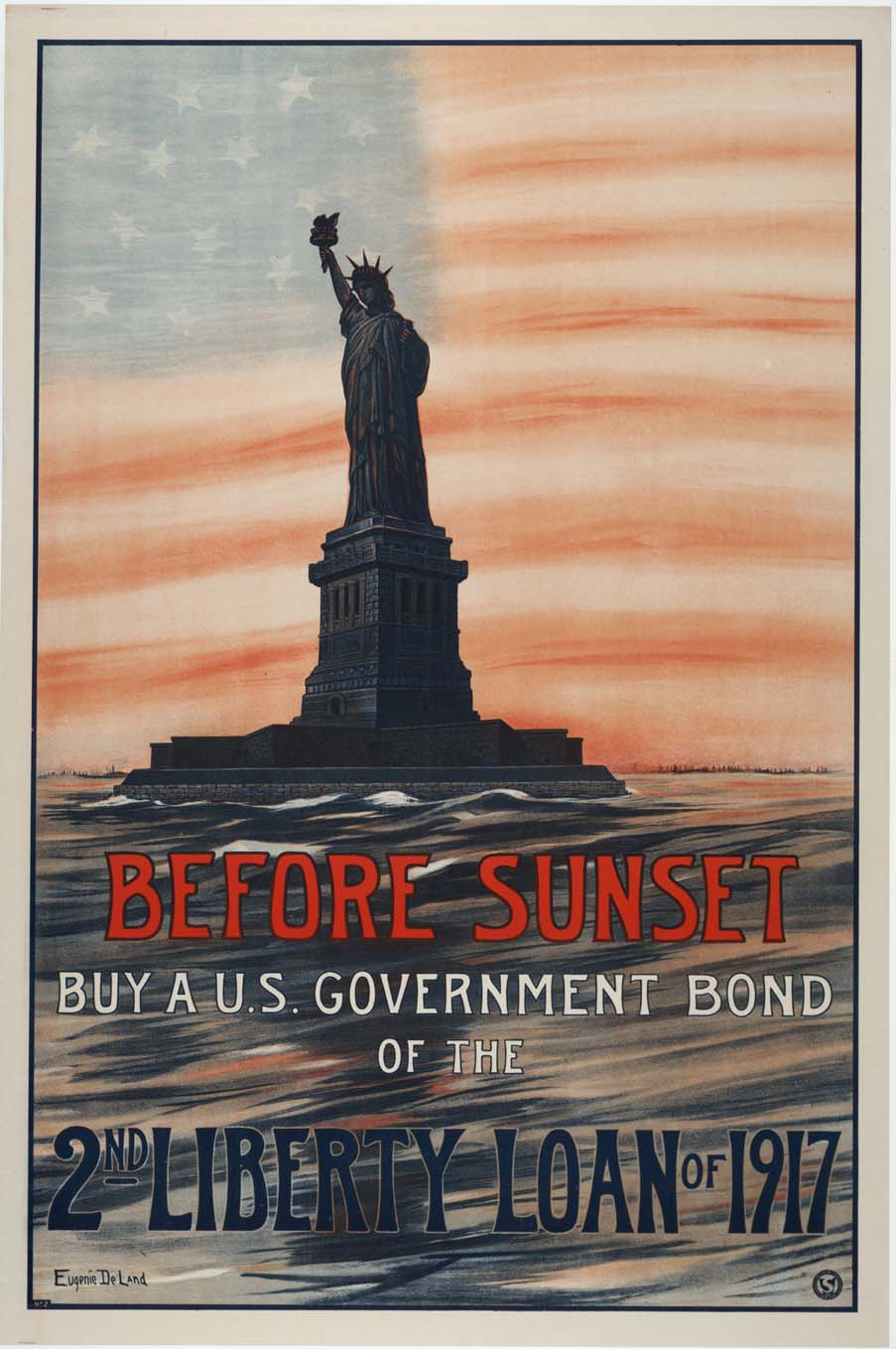 Before Sunset : Buy a U.S. Government Bond of the 2nd Liberty Loan of 1917.