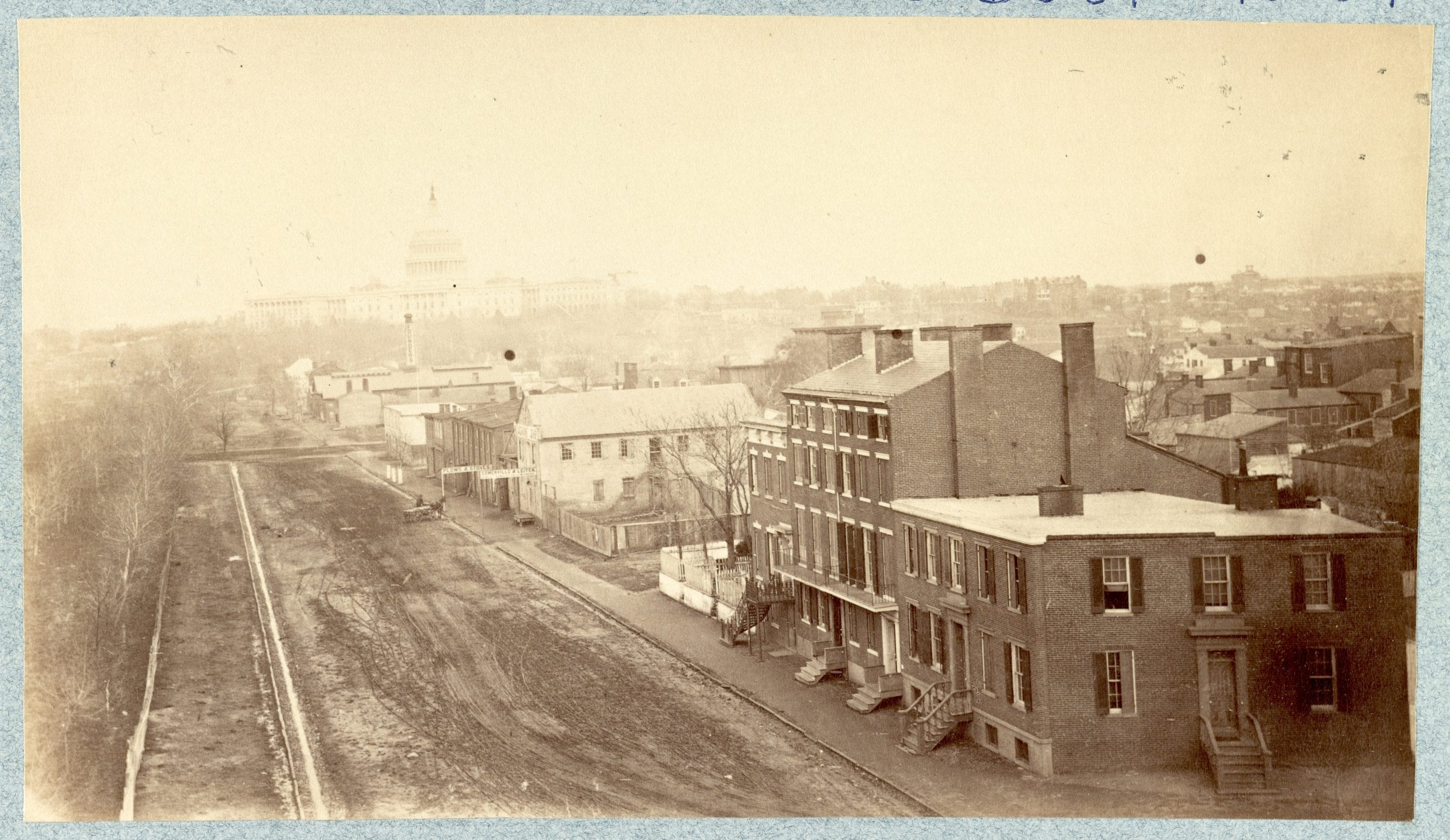 Incredible 1865 Photo of the Capitol