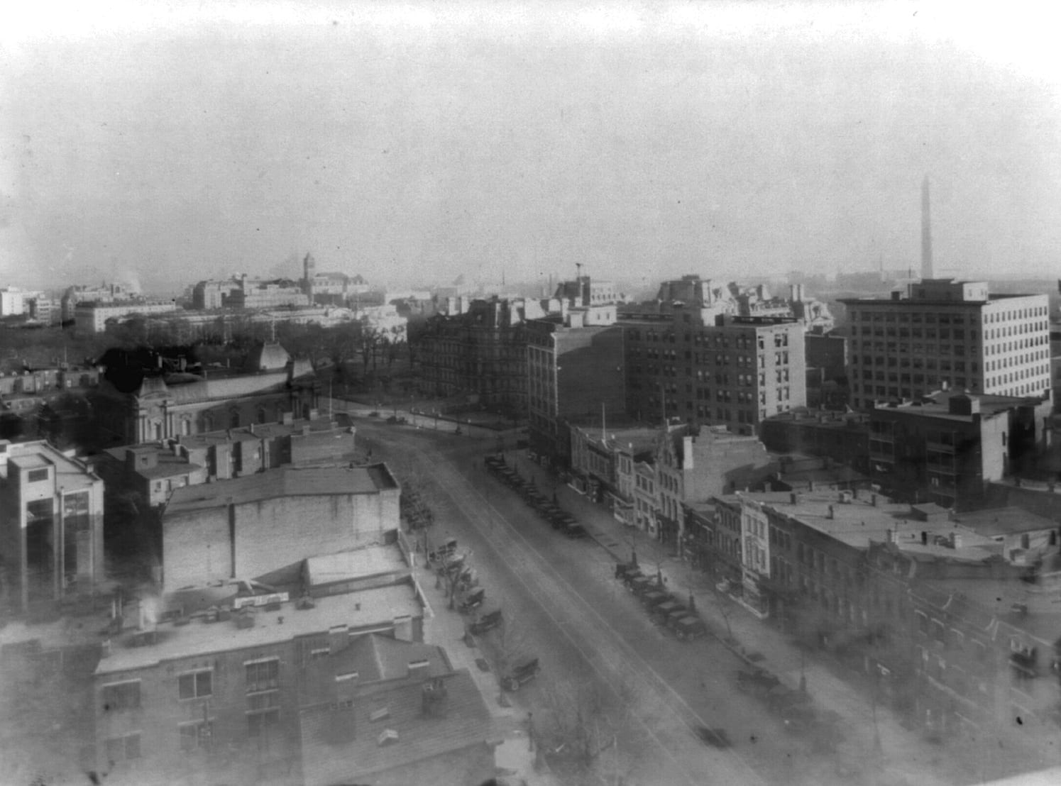 What an Amazing View of Pennsylvania Avenue in the 1920s