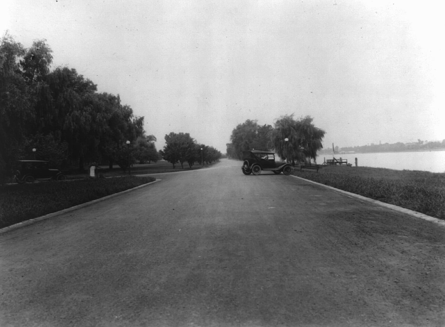 What Did Hains Point Look Like in the 1920s?