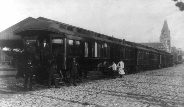 Grover Cleveland's presidential train
