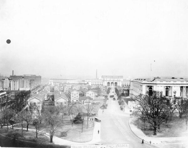 Union Station, bird's-eye view from the south