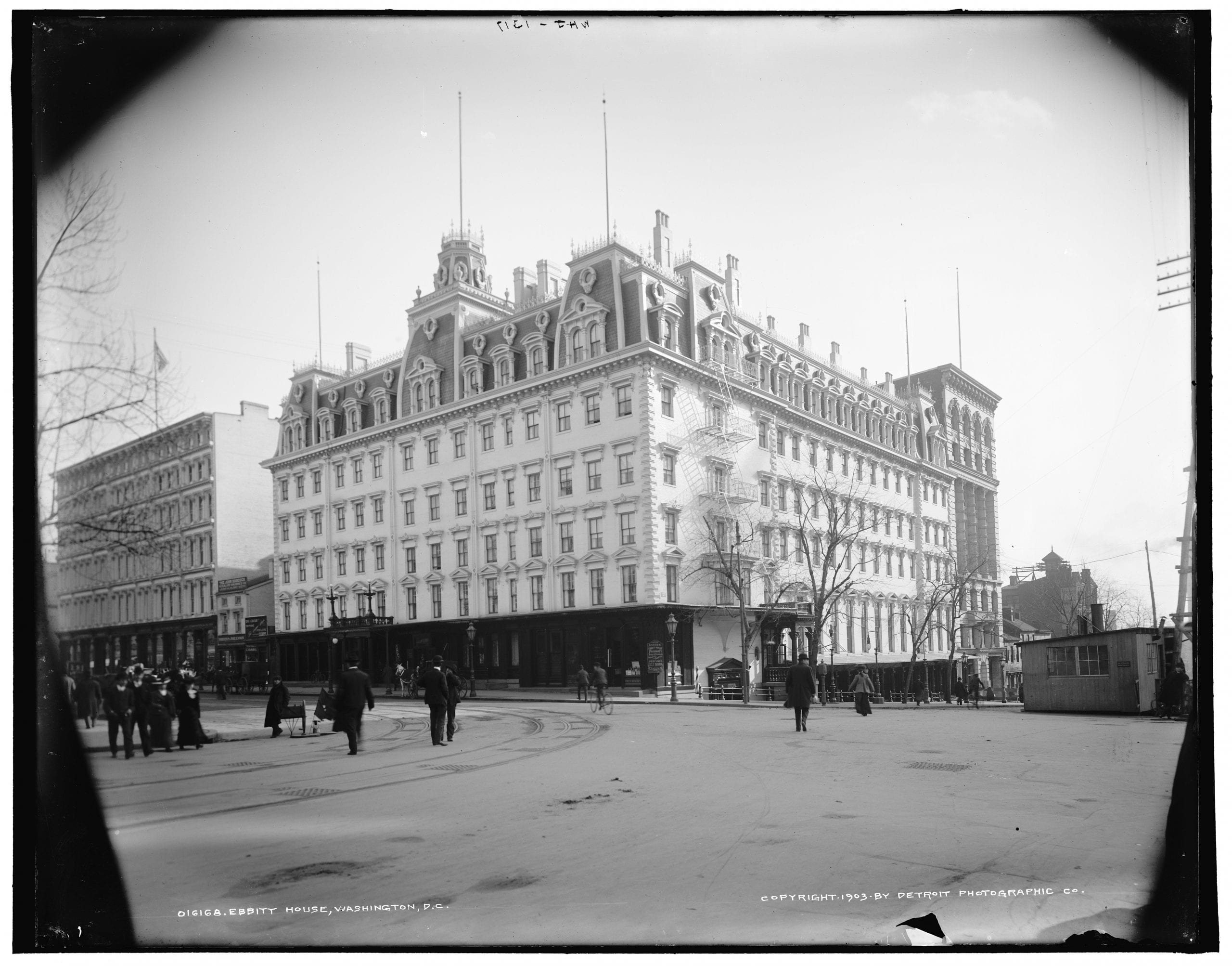 What Did 14th and F Look Like in 1903?