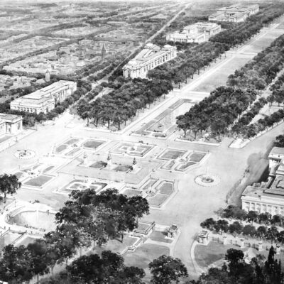 proposed National Mall in early 1900s
