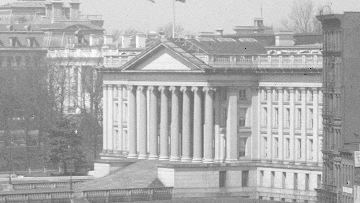 The White House and Treasury Building