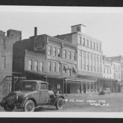 Check Out 7th and Constitution in 1931