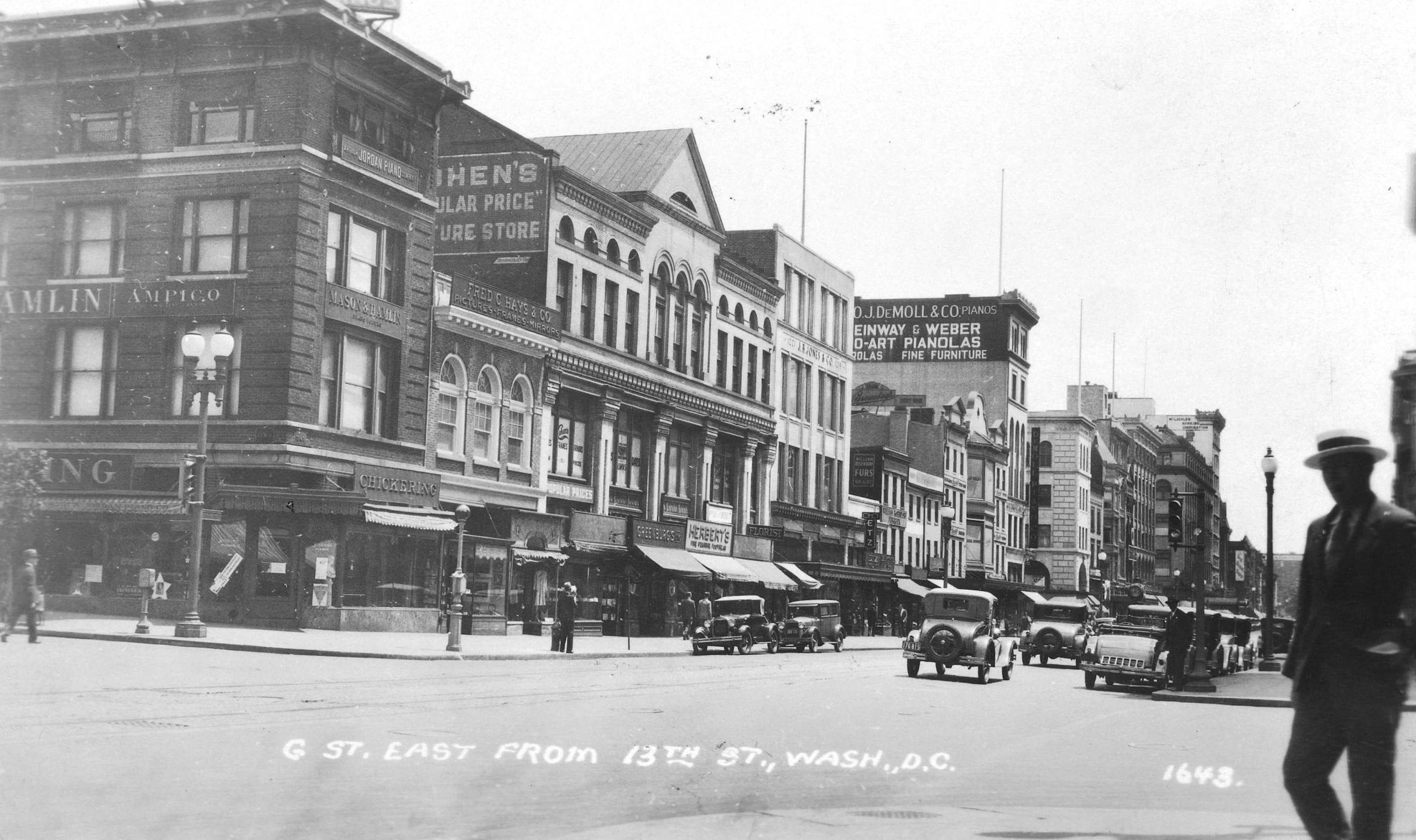 What Did G Street Look Like in the 1930s?