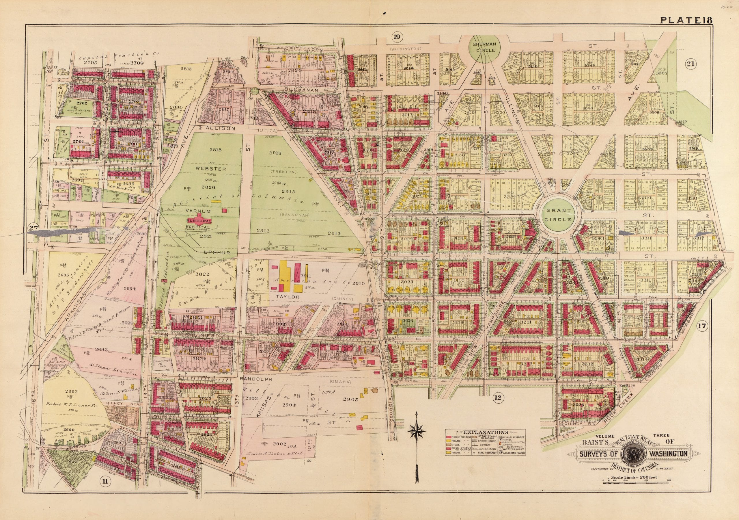 1921 map of Petworth