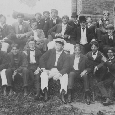 Georgetown students in 1895