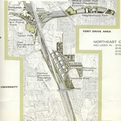 Drawings of Proposed I-95 Through D.C.