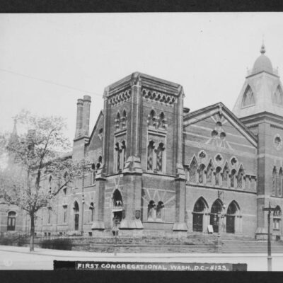 First Congregational Church in 1909