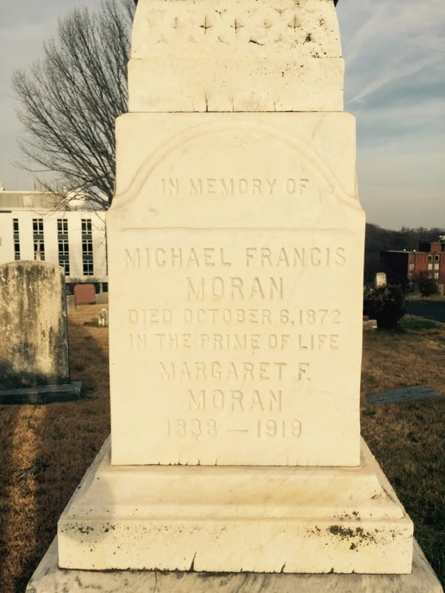Michael F. Moran and Margaret F. Moran
