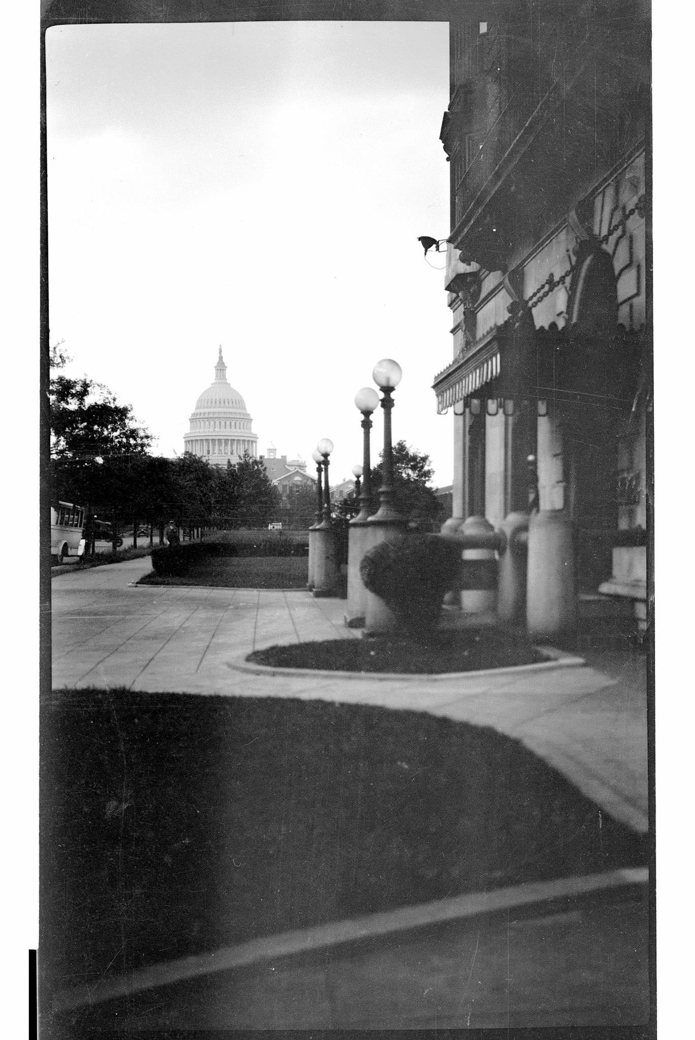 view of Capitol in 1925
