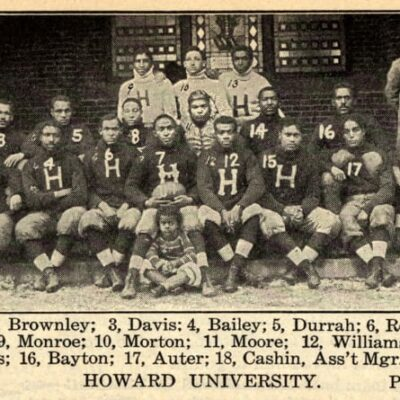 Howard University football in 1904