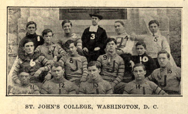 St. John's College football in 1906
