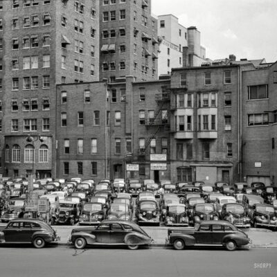 Parking in D.C. for 35 Cents in 1942