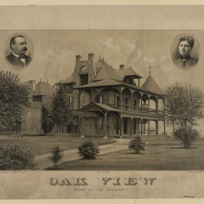 Oak View - home of President Cleveland - Oct. 3, 1897