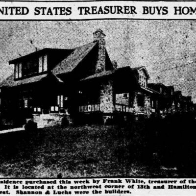 U.S. Treasurer Buys Home in 16th Street Heights