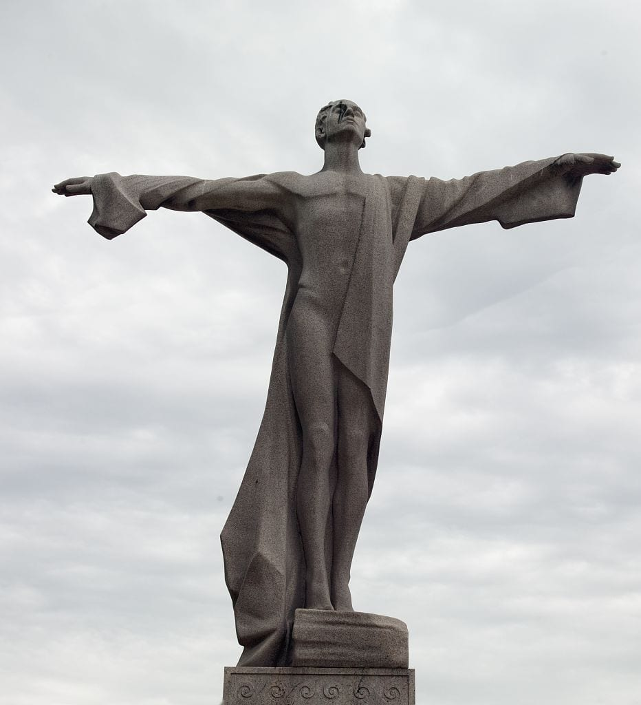 Current photo of the statue, 2008