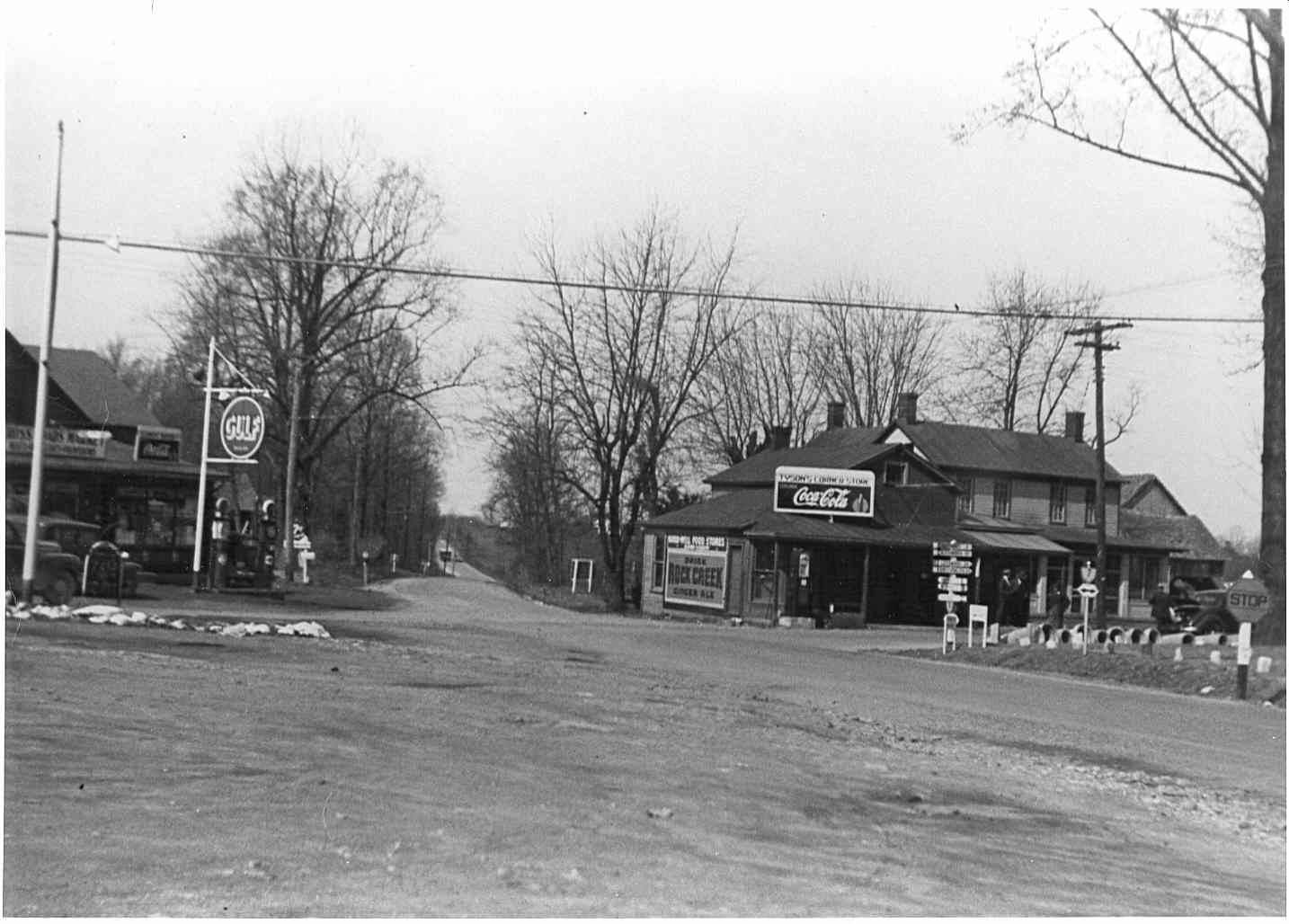 Tysons Corner History, Formerly Peach Grove