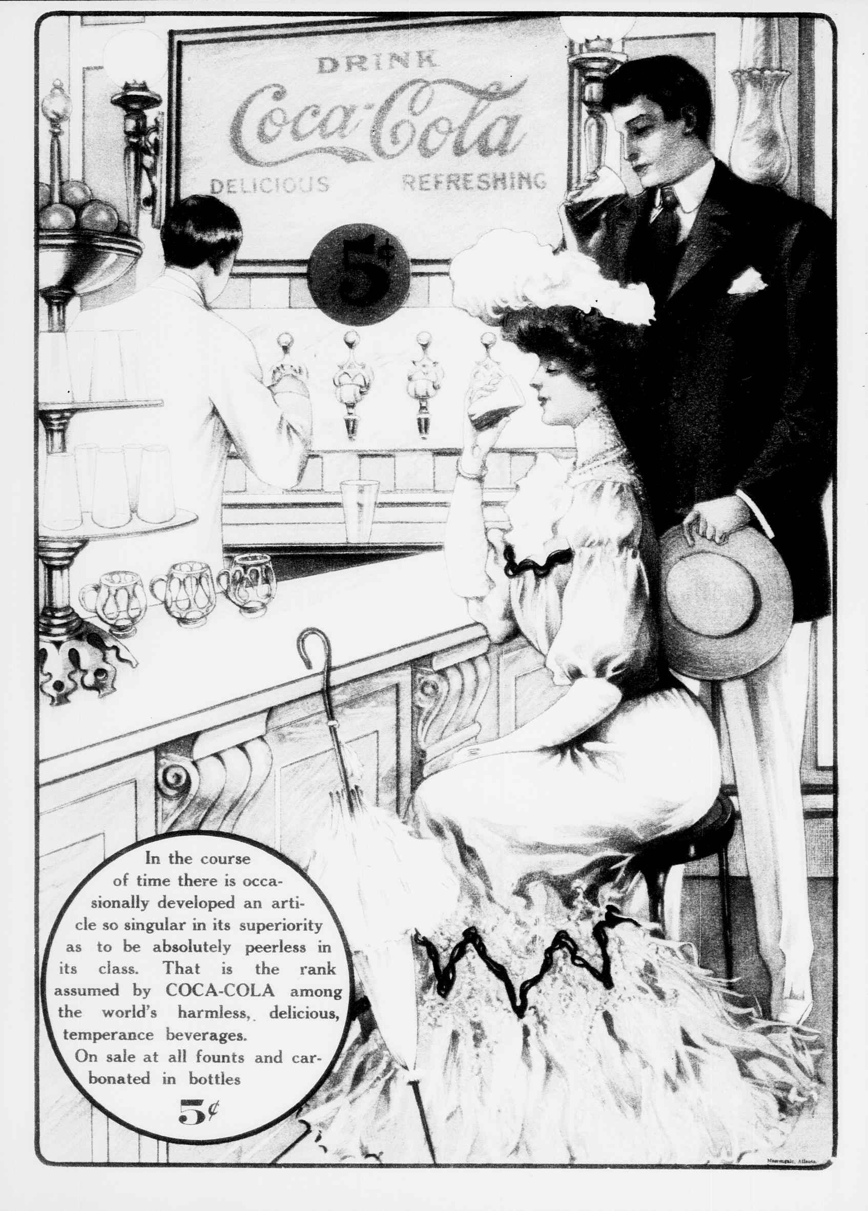 1906 Coca-Cola advertisement