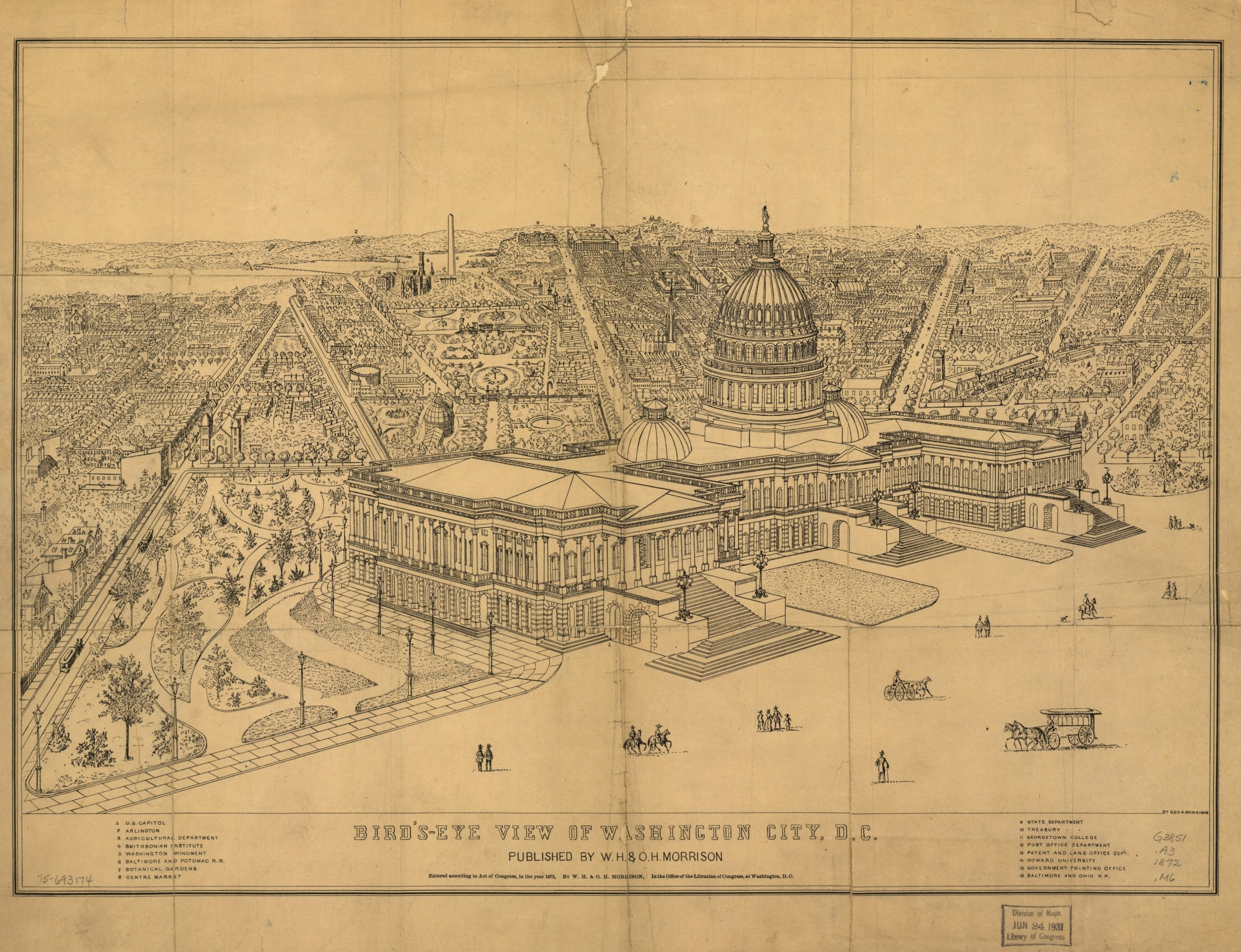 What Did D.C. Look Like in 1872?