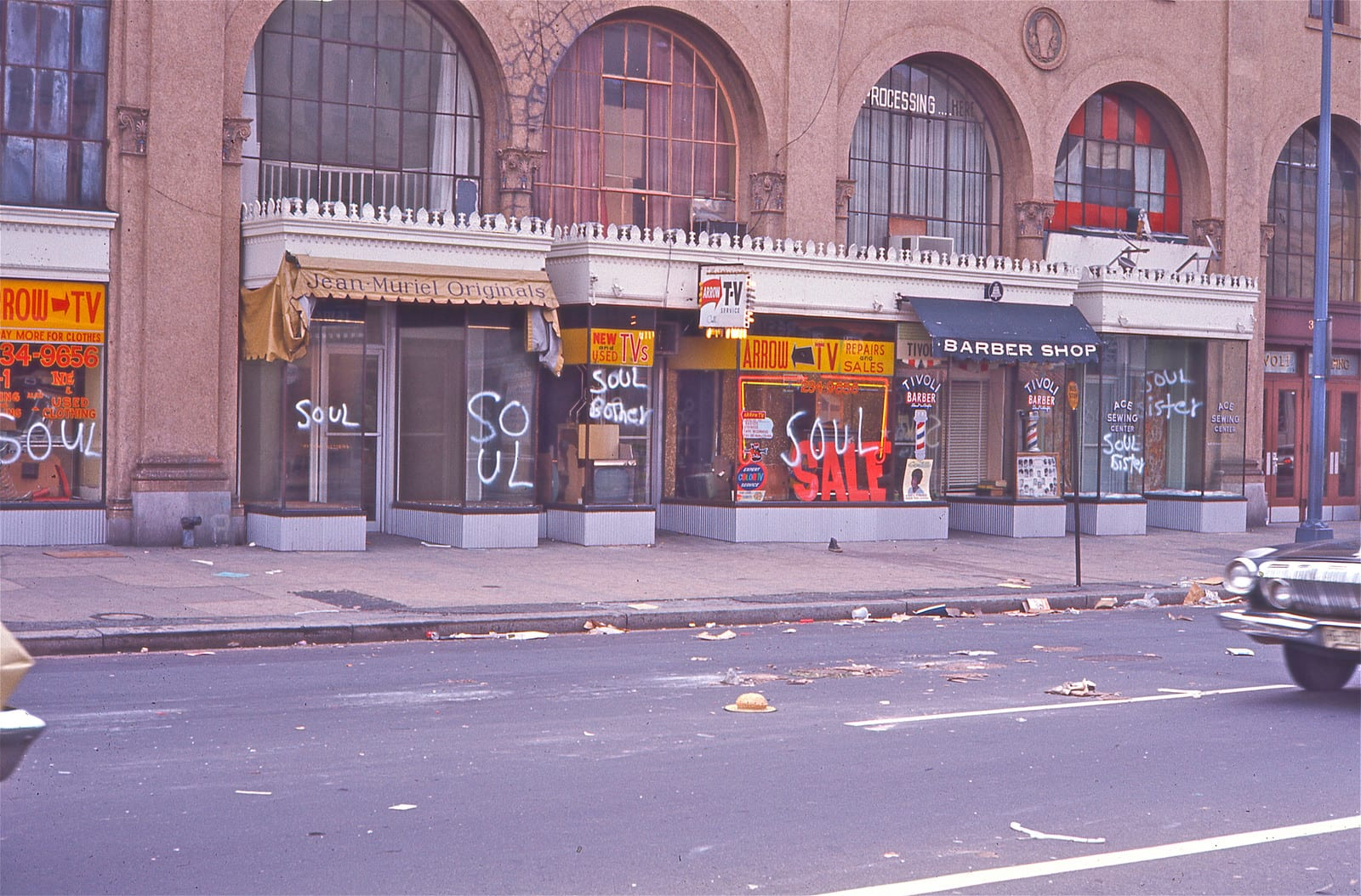 Photos of Columbia Heights After '68 Riots