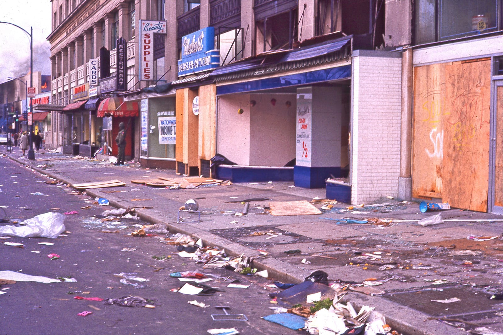 14th Street riot aftermath