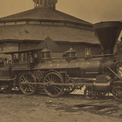 Orange and Alexandria Railroad Roundhouse