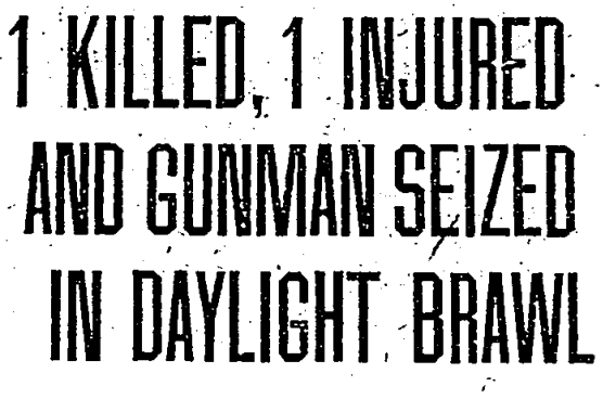 Washington Post headline - December 29th, 1924