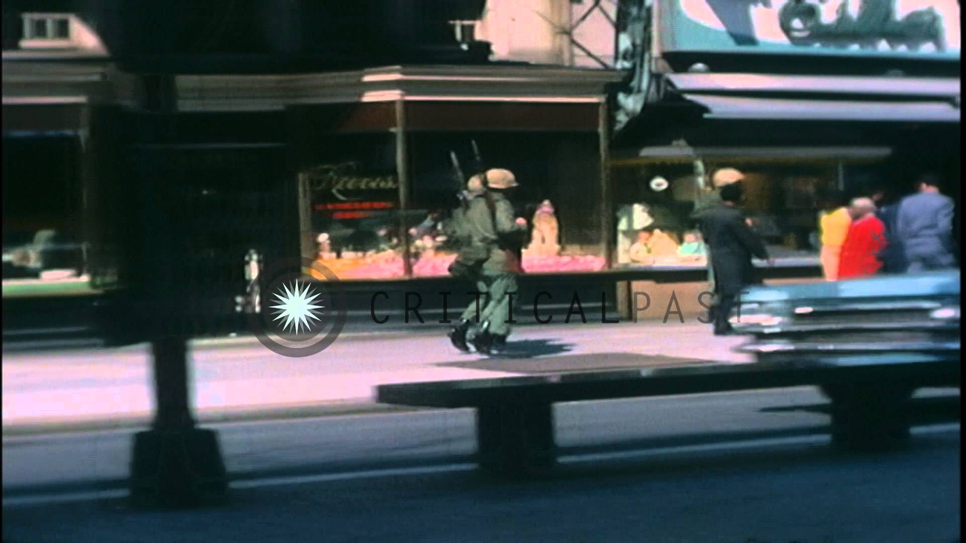 Film Footage of D.C. After 1968 Riots