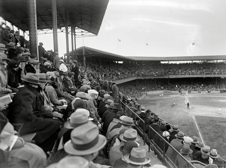 1925 World Series game at Griffith Stadium - Washington v. Pittsburgh
