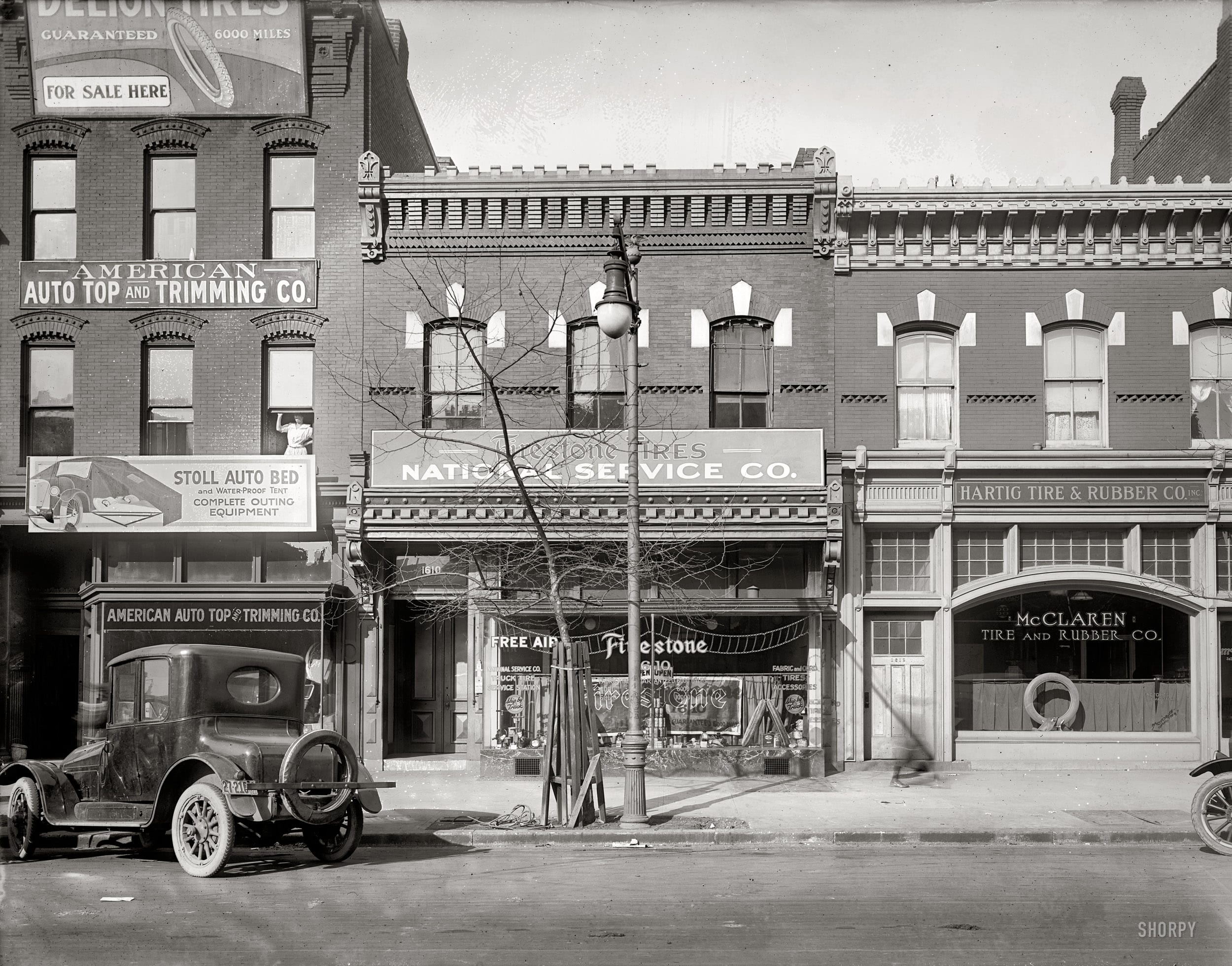 14th St. Buildings in 1920 Before Pearl Dive, Ghibellina, and Rice