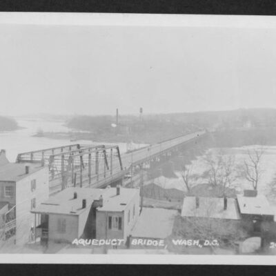Bridge spanned the Potomac River from Georgetown to Rosslyn, Virginia and was demolished after construction of the Key Bridge