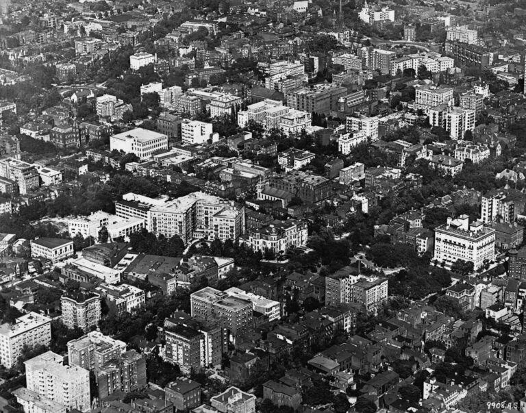 1921 aerial view of Washington, D.C.