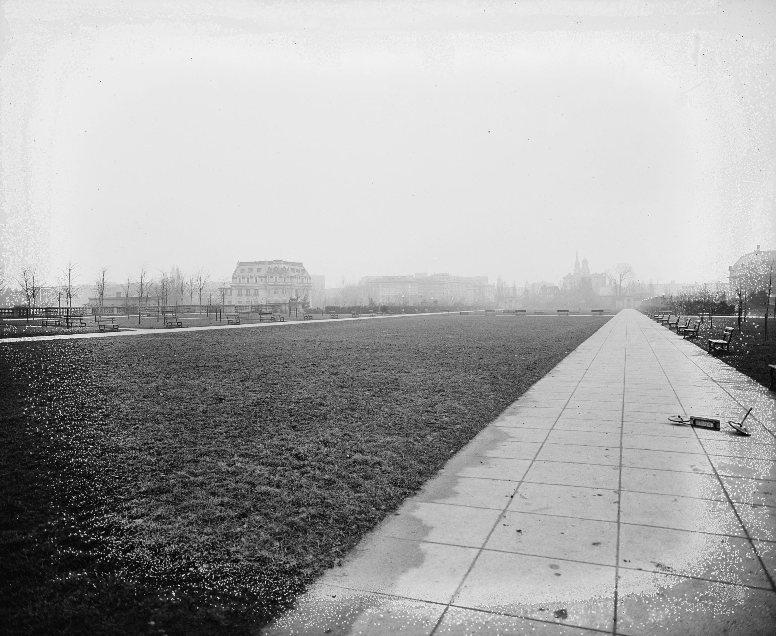 Meridian Hill Park in 1910s