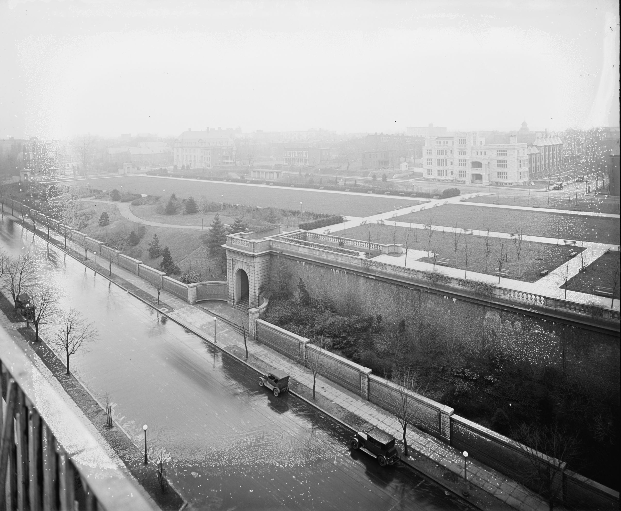 Meridian Hill Park in 1910